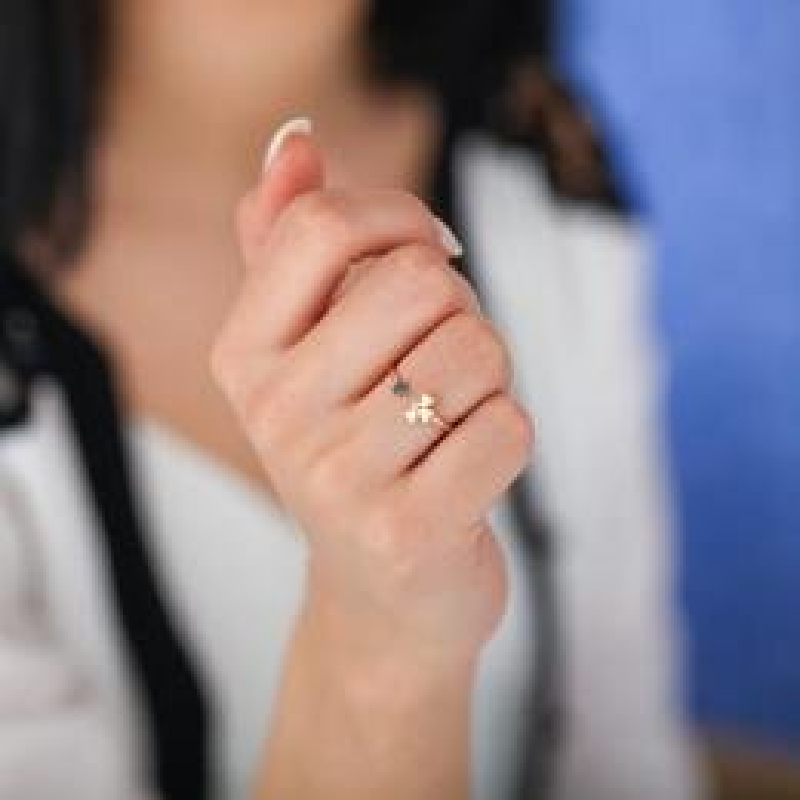 0.04 Carat All Eyes On You Diamond Ring