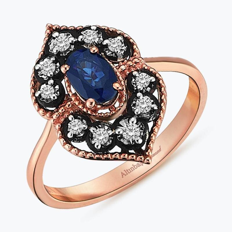 Sapphire Diamaond Ring