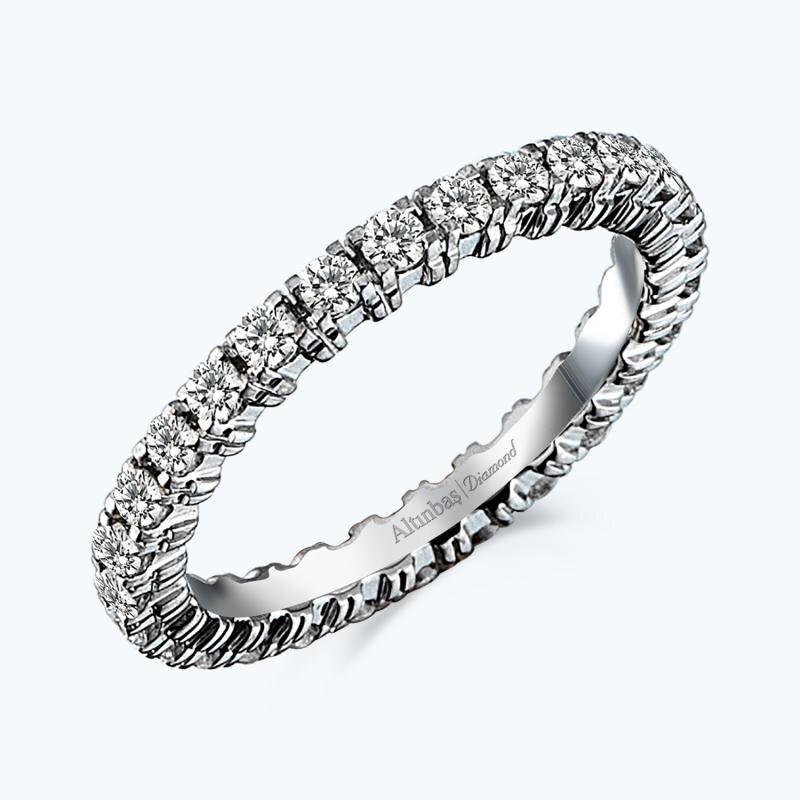 0.96 Carat Eternity Diamond Ring