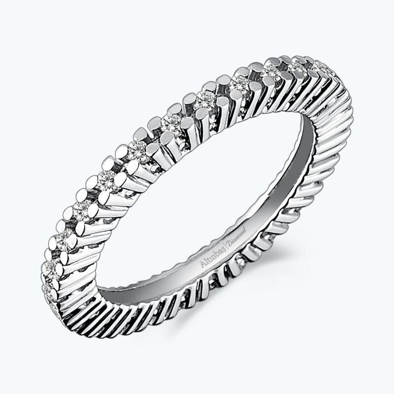 0.42 Carat Eternity Diamond Ring