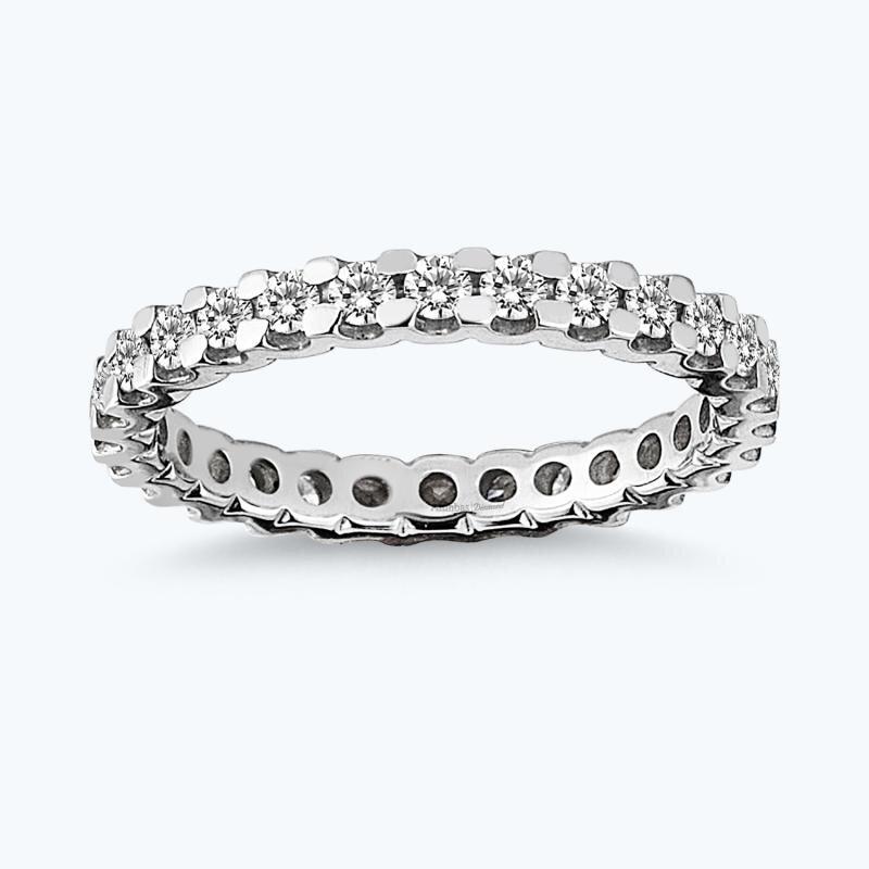 0.83 Carat Eternity Diamond Ring