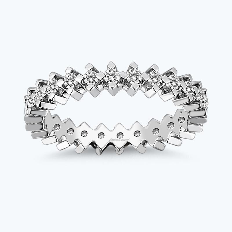 0.68 Carat Eternity Diamond Ring