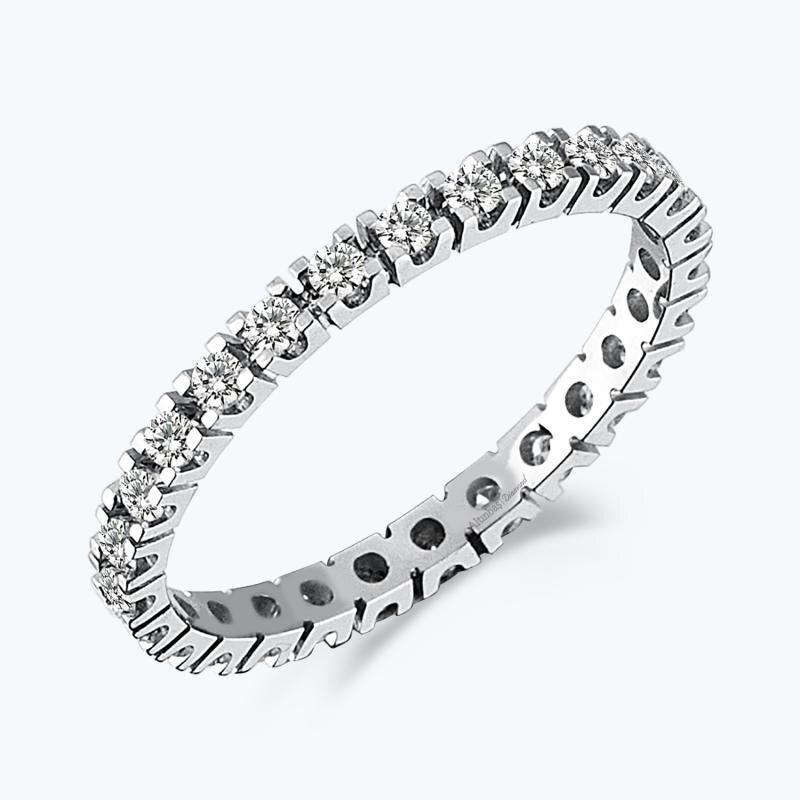 0.54 Carat Eternity Diamond Ring