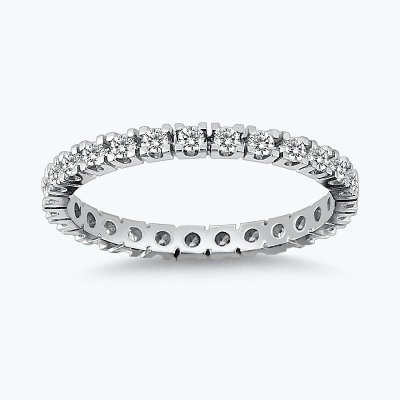 0.49 Carat Eternity Diamond Ring